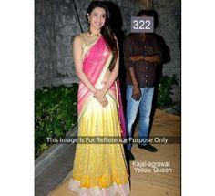 Bollywood Replica Sarees Kajal Agrawal By Namo House|Saree|Ethnic Wear