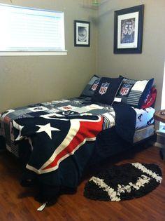 Merveilleux My Sons Room. #nfl #bedding For #boys #bedroom Toddler Room Decor