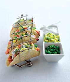 Salmon Tacos & Mango Salsa
