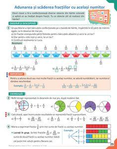 Matematică pentru clasa a IV-a - semestrul al II-lea
