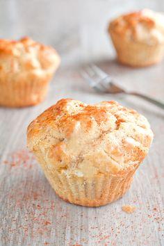 Muffin au reblochon, lardons et paprika