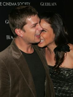 Rob Thomas and his wife. I love this man.