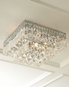Five-Light Crystal Ceiling Fixture at Horchow.
