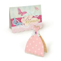 Sizzix - Bigz XL Die - Princess Dress and Deckled Cards