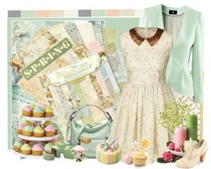 """thinkng of spring"" by countrycousin ❤ liked on Polyvore"