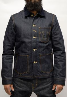 Eat Dust - FIT 673 B ''RAW SELVAGE JEANS JACKET''