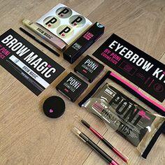 Poni Cosmetic Packaging Cd Design, Print Design, Logo Design, Graphic Design, Beauty Packaging, Cosmetic Packaging, Packaging Design, Brows, Lashes