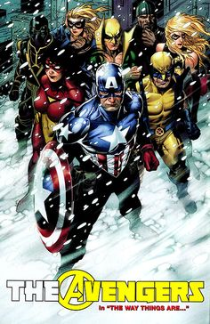 The Avengers by Jim Cheung
