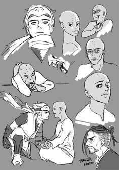 社會低下層 • Sketching stuff for a possible Genyatta comic??...