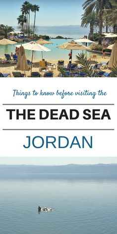 Doesn't it look idyllic? Sure - but read these notes of caution before tempting to enter the Dead Sea!!! | Middle East Adventures | OurGlobetrotters.Com
