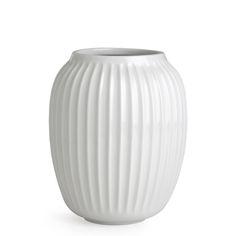 Kähler Hammershøi Vase Weiß 20 cm