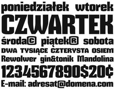Font Mikodacs by gluk