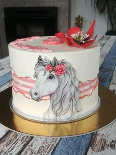 Horse with Faultline - cake by Katka Very beautiful! Cowgirl Cakes, Western Cakes, Horse Birthday, Birthday Cake Girls, Birthday Cakes, Cake Paris, Horse Cake, Animal Cakes, Cake Decorating Techniques