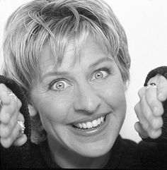 """""""I'm on the patch right now. Where it releases small dosages of approval until I no longer crave it, and then I'm gonna rip it off.""""- Ellen DeGeneres"""