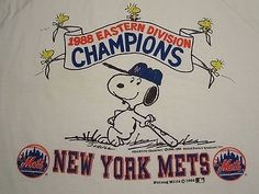 Mets 1988 NL East Champs Snoopy