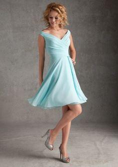 Love it!  http://www.aliexpress.com/item/2014-Aqua-Short-Bridesmaid-Dresses-Chiffon-Elegant-Pleats-Beach-Casual-Summer-Bridal-Party-Dresses-Custom-Made/1478047810.html