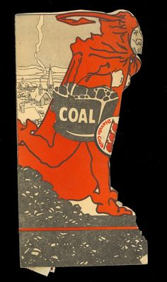 Compliments of EH Durham St John Kansas advertising Diavolo Coals. Featuring their well known three devils carrying coal on the pamphlet and a Diavolo Coals label seal. CF&I produced the Diavolo Coals from Florence Colorado Mines and such. | eBay!