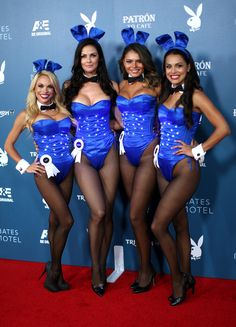 """Dani Mathers, Summer Altice, Alana Campos and Raquel Pomplun at Playboy And A&E's """"Bates Motel"""" Event During Comic-Con July 2014"""