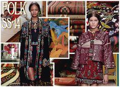 Más que una tendencia, el Folk es una filosofía fashion. Se caracteriza por mezclar de exquisita manera las texturas naturales como: Lana, piel y cuero. Los colores son protagonistas y la comodidad está por encima de todo.