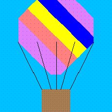foundation paper piecing lesson for hot air balloon, make your own foundation paper patterns, quilt, free