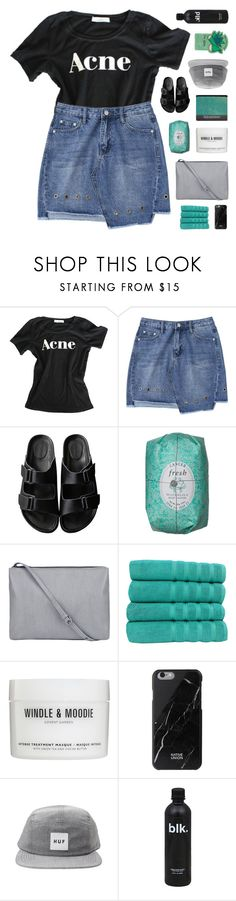 """AQUADISIAC"" by emmas-fashion-diary ❤ liked on Polyvore featuring American Rag Cie, Makroteks, Windle & Moodie, Native Union, HUF and Tony Moly"