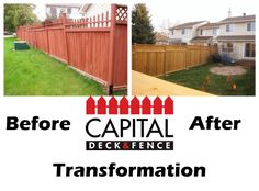 Another transformation! For more info, please call us 613-413-7572 http://www.capitaldeckandfence.ca/
