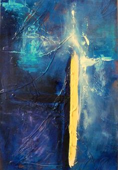 After Light - Sue Mac Dougall Deep Sadness, Art For Sale, Meet You, Different Colors, Sword, Candle, Blues, Layers, My Arts