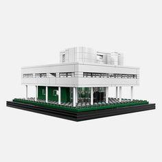 Le Corbusier's Villa Savoye is the latest release from LEGO Architecture.