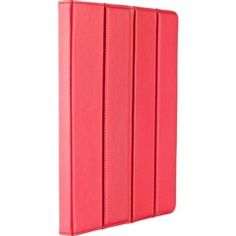 Red Microfiber Leather Incline Jacket for iPad® 2 and The New iPad®  M-Edge PD3-IN1-MF-RNW  NEW!  Free Shipping  #Red #iPad
