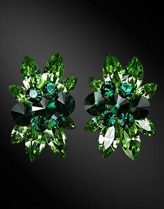 Zdenka Akro Rhinestone earring UH08004-53 - Rhinestone Jewelry | Dancesport Fashion @ DanceShopper.com