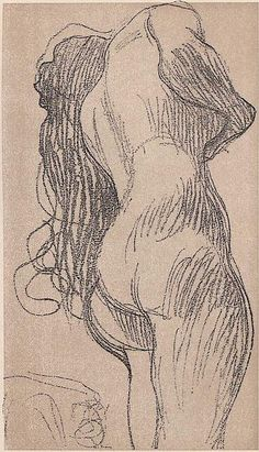 #Gustav Klimt drawing