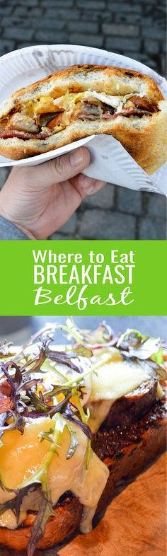 From five star restaurants to greasy spoon diners, we cover it all in our guide of where to eat breakfast in Belfast.