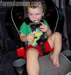 Safe with Britax FRONTIER 85 SICT Combination Harness-2-Booster Seat