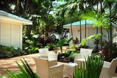 Spa Garden Area