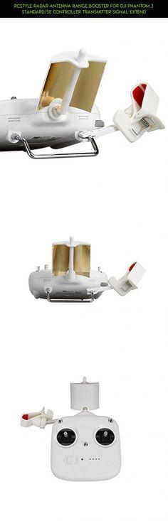 RCstyle Radar Antenna Range Booster for DJI Phantom 3 Standard/SE Controller Transmitter Signal Extend #standard #products #accessories #shopping #drone #kit #racing #dji #phantom #fpv #battery #3 #camera #tech #technology #parts #gadgets #plans