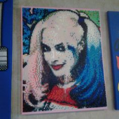 Harley Quinn (Suicide Squad) perler beads by shampooteacher