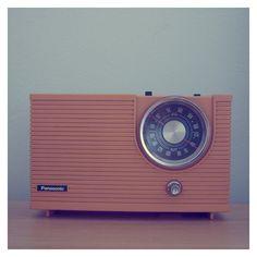 Panasonic vintage radio...