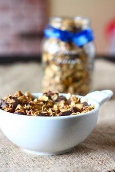#IdeasDeDesayunosSaludables - Fibra para acompañar con leche o yogurt: Granola - (Click en la imagen para ver receta de Granola Casera)