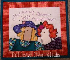 Small Friendship quilts from Nancy Halvorsen patterns