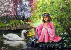 #aceo #girls #art #swan #amazing #smile #old #fashion #style #flowers #hair #awesome #nice #eyes #loveit #colorful #beauty #sweat #face #tree #green #new
