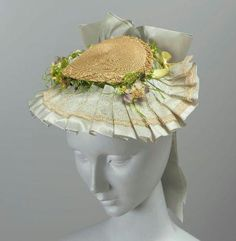 Hat of the day...1870s