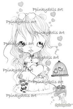 Digital Stamps, Scrapbooking printable, Digi stamps