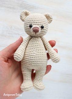Cuddle Me Bear Crochet Tutorial