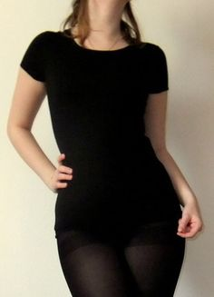 Kaufe meinen Artikel bei #Kleiderkreisel http://www.kleiderkreisel.de/damenmode/t-shirts/141905073-schwarzes-cos-shirt-basic-s