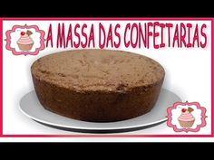 Bolo de Chocolate - Massa Chiffon ou Pão de Ló - 100% APROVADA POR CONFEITARIA…