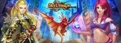 SkyDragon é um jogo RPG para jogar no navegador que conta como batalhas por turnos, magias, classes e evolução de personagens, além do uso de dragões.
