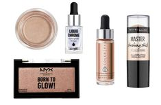 Best Makeup Products For Super Glowy Skin Cream Highlighter, Nyx Born To Glow, Glowy Makeup, Translucent Powder, Dewy Skin, Latest Makeup, Tinted Moisturizer, Fashion Advice