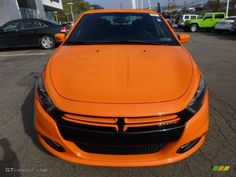 Header Orange 2013 Dodge Dart Rallye Exterior Photo #71975062