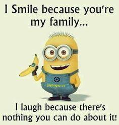 Funny Minion Joke About Family