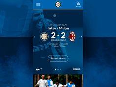 FC Internazionale Milano - Website - Redesign by Edoardo Coccia